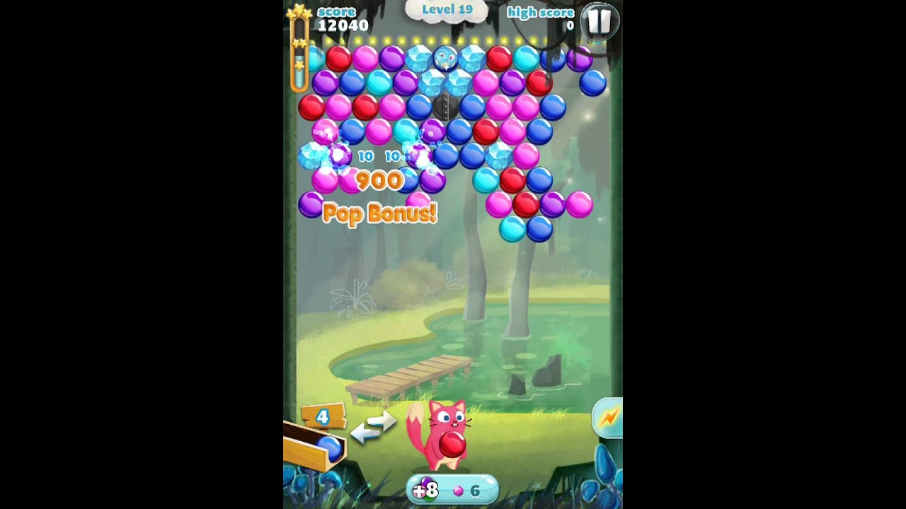 how many levels in bubble mania
