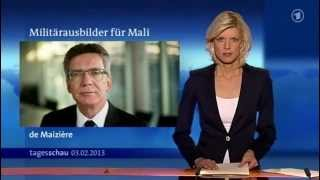 German TV news