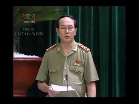 Bộ trưởng Công an trả lời chất vấn vụ Dương Chí Dũng
