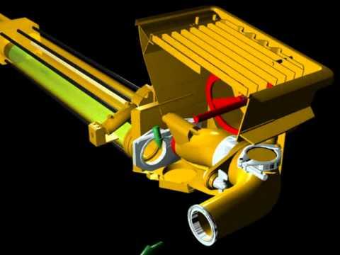 Funcionamento Bomba de Concreto - Modelo Tubo S - http://fb.me/differencialservice