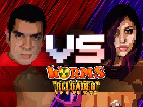 """OUR WORST ENEMIES"" Husband Vs. Wife - Worms Reloded"