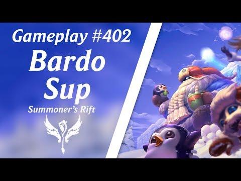 LOL Gameplay - Bardo Suporte #55 - As distraídas | 4K 60fps