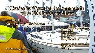 [Cruise Views at Annapolis Sailboat Show 2013. Comedic peek s...] Video