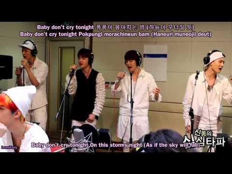 EXO - Baby Don't Cry [english subs + romanization + hangul]