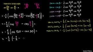 Defaktorizacija trigonometričnih izrazov – naloga 4