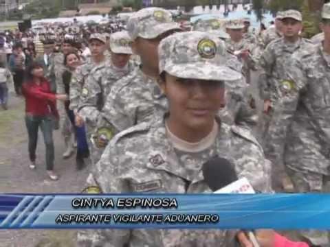 Se abrió nuevo curso de Vigilantes Aduaneros. (Noticias Ecuador)