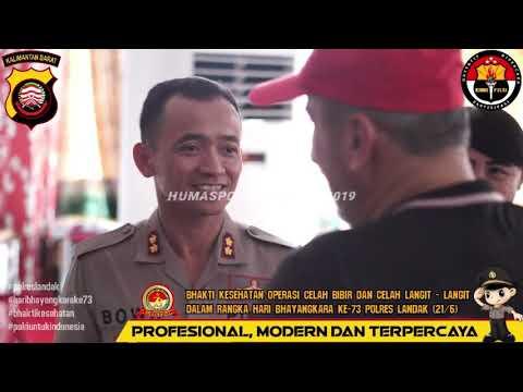 Pelaksanaan Operasi Bibir Sumbing & Celah Langit-Langit dalam Rangkaian Acara HUT Bhayangkara Ke-73