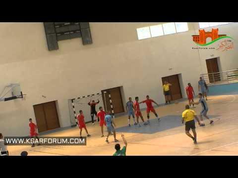 فيديو : النادي القصري لكرة اليد يصعد للقسم الأول