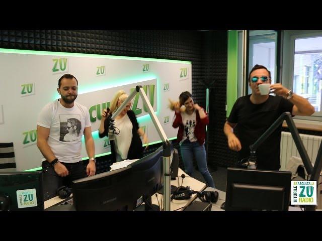 Amna si Adda isi asculta noua piesa in premiera la radio