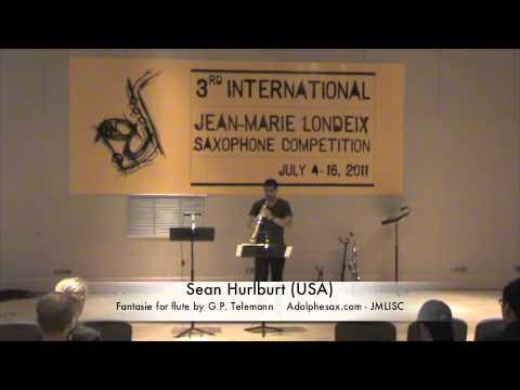 3rd JMLISC: Sean Hurlburt (USA) Fantasie for flute by G.P. Telamann