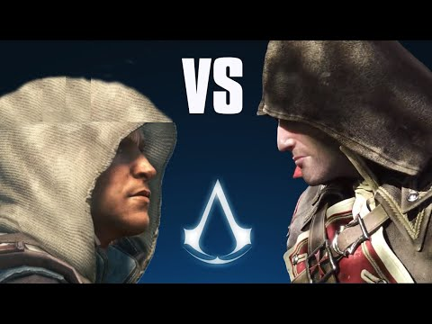 Assassin's Creed: Rogue vs Black Flag - Side by Side comparison