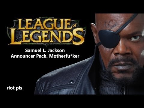League of Legends Samuel L. Jackson Announcer Pack