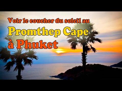 coucher de soleil au promthep cape à phuket