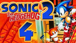 Let's Play Sonic the Hedgehog 2 - Part 4 - Oil Ocean & Metropolis Zone