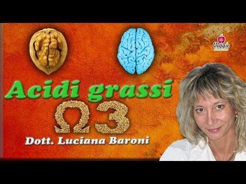 Acidi grassi Omega 3 - Dott.ssa Luciana Baroni