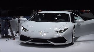 Lamborghini Huracán LP 610-4 Exterior and Interior in 3D 4K UHD