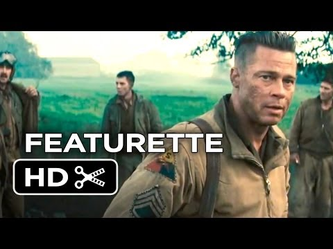 Fury Official Preview Featurette (2014) - Brad Pitt, Shia LaBeouf  War Movie HD