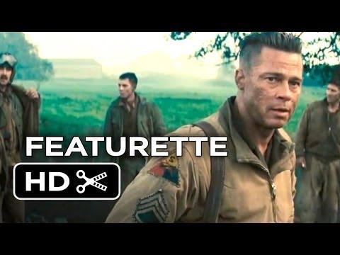 Fury Official Preview Featurette (2014) - Brad Pitt, Shia LaBeouf  War Movie HD