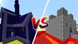 Thử Thách Làm Nhà Hắc Diện Thạch Trong Minecraft
