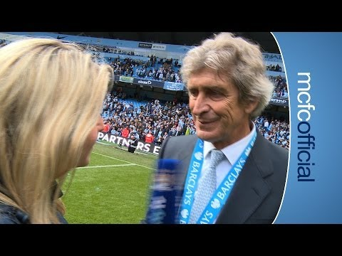 PELLEGRINI ON TITLE WIN | City v West Ham Champions 2014