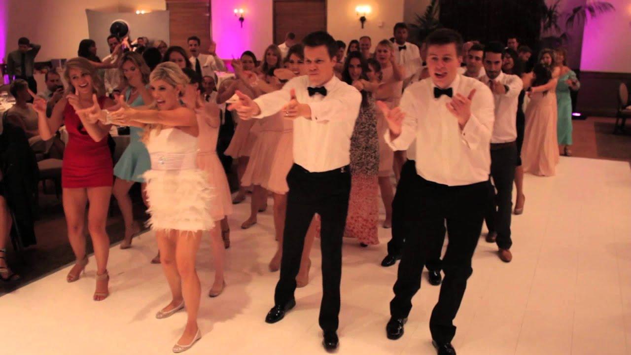 FLASH MOB WEDDING Dance Keshas Timber