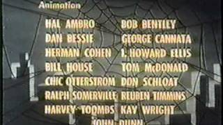 Spider-Man Closing Credits 1966-67 Season 1