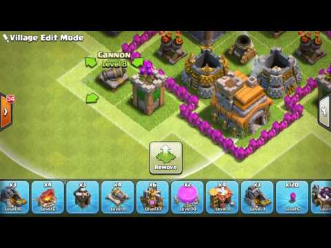 Clash of Clans | Best TH7 War Base Without Barbarian King | Anti Dragon + Anti 3 Star