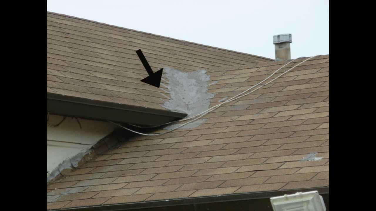 Watch This Video Before Repairing Composition Shingle Roof