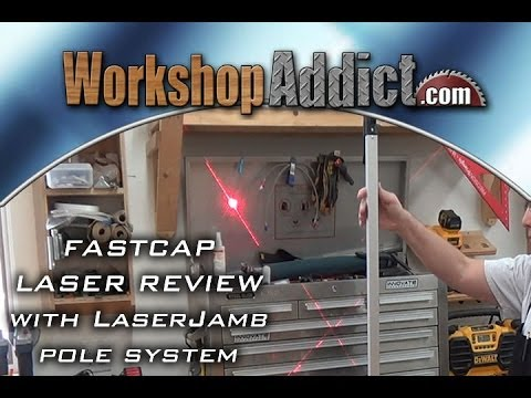 Laser with Pole Review  -  Fast Cap LaserJamb System