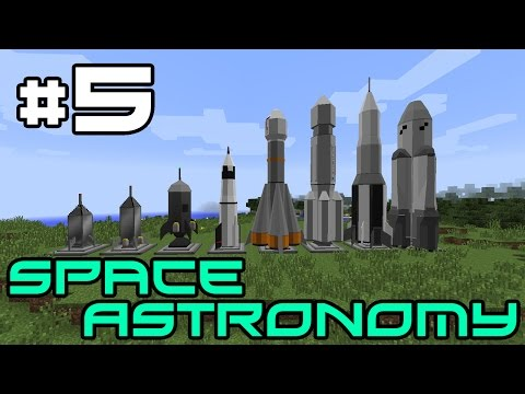 Minecraft Space Astronomy - Quarrying! #5