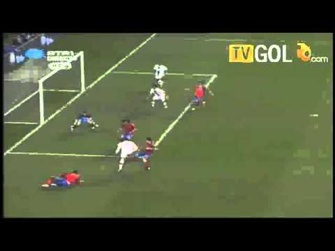 Portugal vs Spain 4-0 Cristiano Ronaldo Disallowed Goal (17/11/10) International Friendly