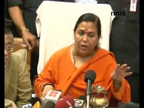 What are Sonia Gandhi's qualification? - Uma Bharti
