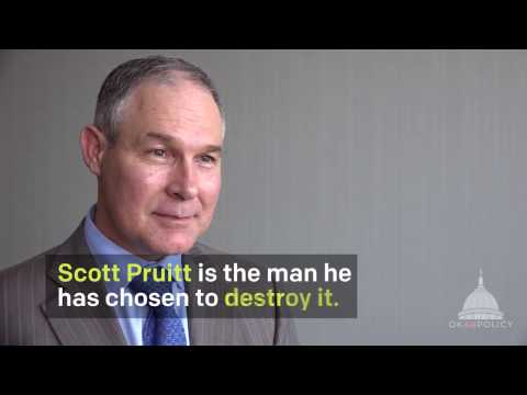 Earth Justice on Scott Pruitt