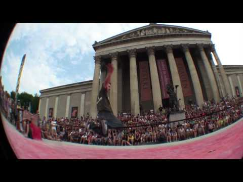 Gibbon Slackline WorldCup - Munich 2010 - Official video