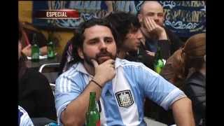 Em Belo Horizonte, o Alterosa Esporte encontrou além de argentinos, muitos brasileiros torcendo para a Seleção Argentina na capital mineira. A classificação sobre a Holanda foi sofrida, mas no final, só deu eles. Veja a comemoração: