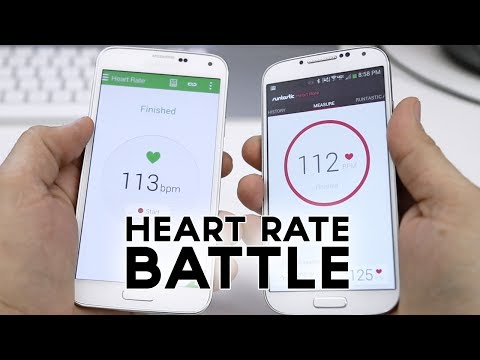 Samsung Galaxy S5 vs Galaxy S4 vs iPhone 5s: Heart Rate Sensor Comparison