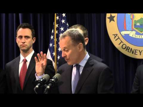 A.G. Schneiderman Announces Lawsuit Against Barclays