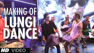 Lungi Dance Song Making (The Thalaiva Tribute)