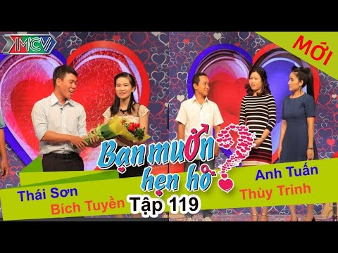BẠN MUỐN HẸN HÒ - Tập 119 | Thái Sơn - Bích Truyền | Anh Tuấn - Thùy Trinh | 29/11/2015