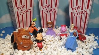 Disney Junior Characters Movie Theatre Popcorn SURPRISES