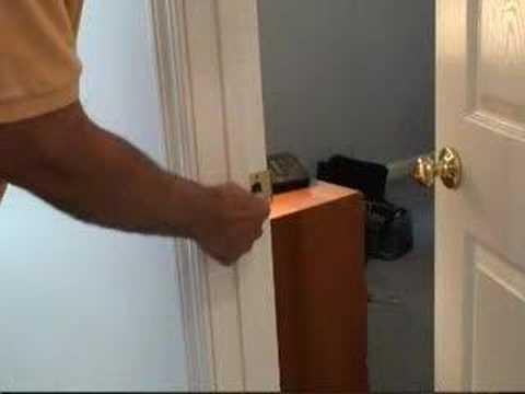 Fixing A Door Latch Youtube