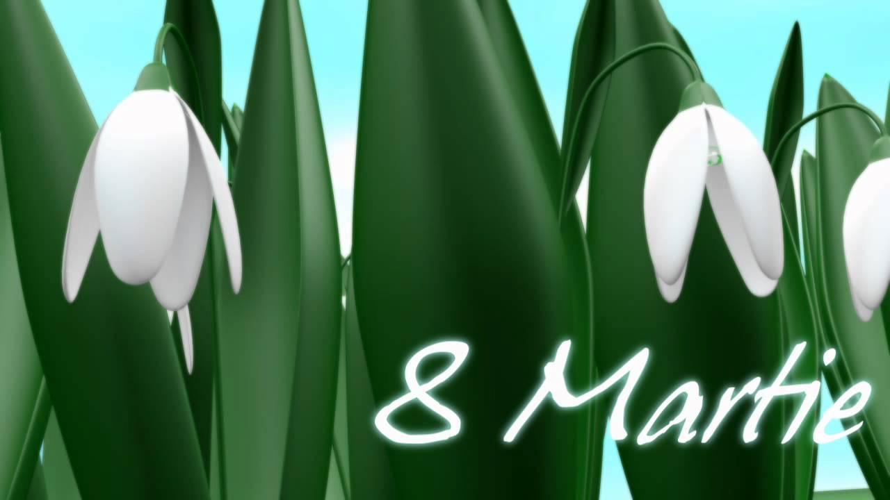 Felicitare de 8 Martie HD - YouTube