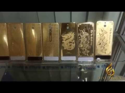 Nokia 515 Gold   Giá Điện thoại Nokia N515 MẠ VÀNG 24K tại HN, Tp HCM