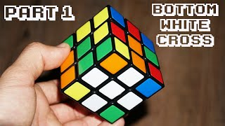 How To Solve A Rubik's Cube Part 1 White Cross