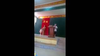Chửi cán bộ ngay tại ủy ban xã Đồng Tâm