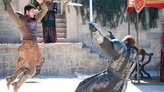 GAME OF THRONES Head Crush The Mountain Vs The Red Viper