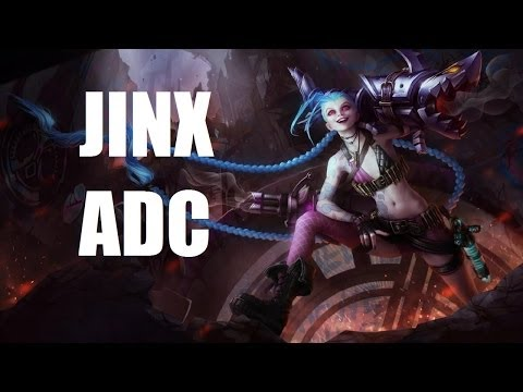 League of Legends - Jinx ADC - Full Game Commentary