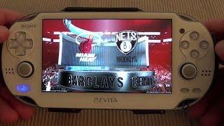 PSVita Remote Play: NBA 2K14 (PS4)