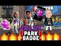 WE ALL UNLOCKED THE JELLY PARK BADGE NBA 2K18 PLAYGROUND PAUL GEORGE TYPE BUILD