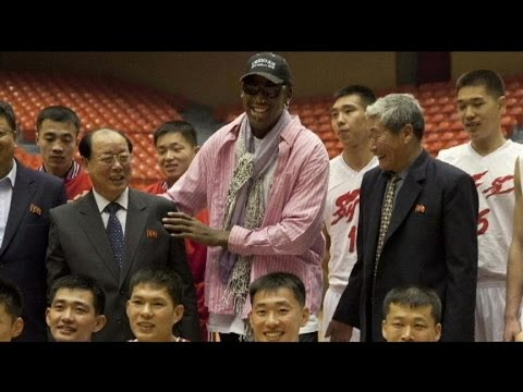 Dennis Rodman Organizes American B-Ball Game For North Korean Leader